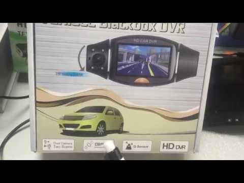 Камера за кола R310 TFT с GPS модул за проследяване и два обектива за HD AC47 15