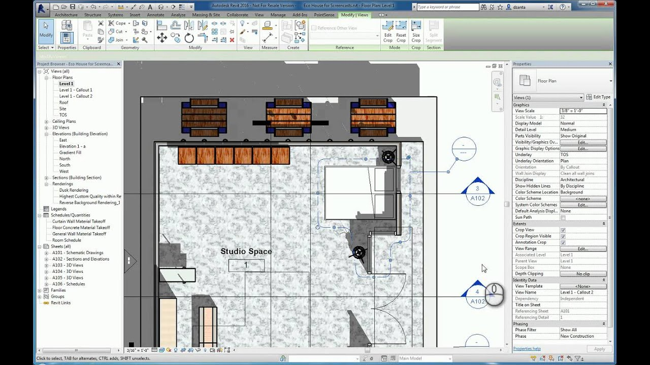 Revit Callout, Reference Other View and Drafting View ...