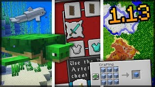 ✔ CHEGARAM AS ÚLTIMAS NOVIDADES DO MINECRAFT 1.13!