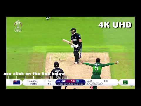 Pakistan vs New Zealand - Match Highlights - World Cup 2019