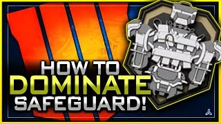 How to Dominate Safeguard in Black Ops 4! (+ Best Ways to Kill the Robot!)