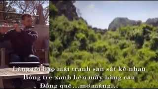 Làng tôi - Chung Quân (Sáo flute)