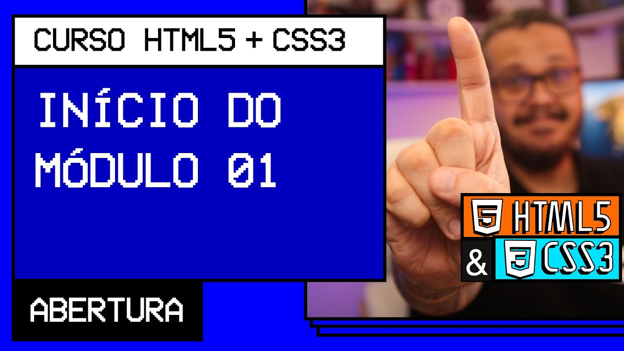 What will we learn in module 01? - @ HTML5 + CSS3 Video Course