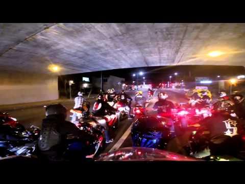 Bike #3 Un groupe de motards américains narguent la police !! [ 720p ]