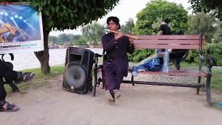 """Mujhe Raat Din Bas"" Lyrical Video   Sangharsh   Sonu Nigam   Flute instrumental"