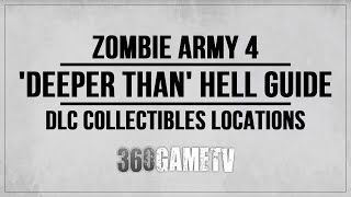 Zombie Army 4 Deeper Than Hell Collectibles (Zombie Hands, Documents, Comics etc) DLC Collectibles