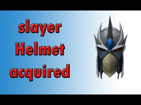 Crafting A Slayer Helm Osrs