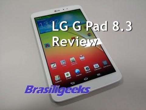 LG  G Pad 8.3 - Análise e Testes