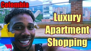 Luxurious Energy Living  and  Blux  Apartment Shopping | Moving to Colombia episode 22