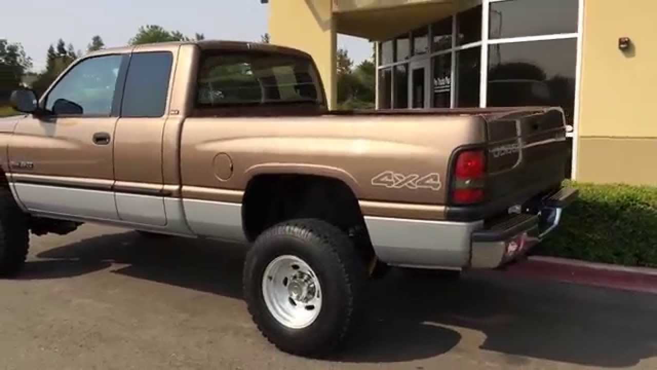 Diesel Pickup Trucks For Sale >> For Sale 2000 Dodge Ram 5 9 Cummins Diesel 4x4 Local California Truck