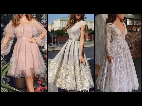 short-homecoming-dresses/princess-lace-long-sleeve-prom-dresses