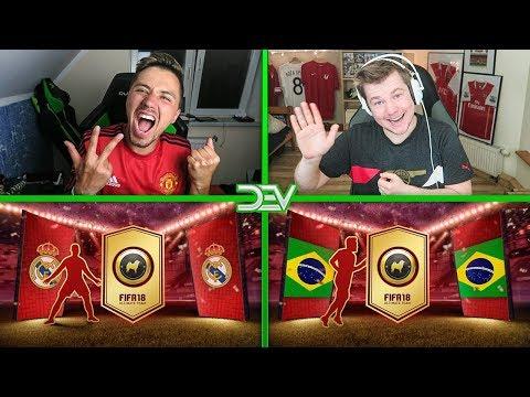 🔥 POTĘŻNY WALKOUT I INFORMY W PACK & PLAY! 😈 FIFA 18 / DEV