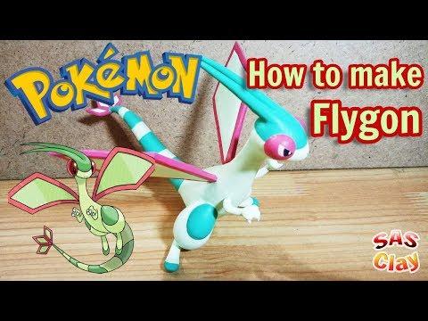 Pokemon Clay Art Tutorial - Flygon thumbnail