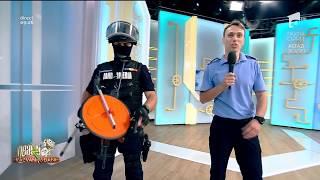 Jandarmi înarmați până în dinți, în stațiile de metrou. Află aici motivul prezenței lor