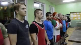 Тренировка глубокских штангистов: построение