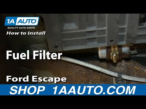 How To Replace Fuel Filter 02-05 Ford Escape