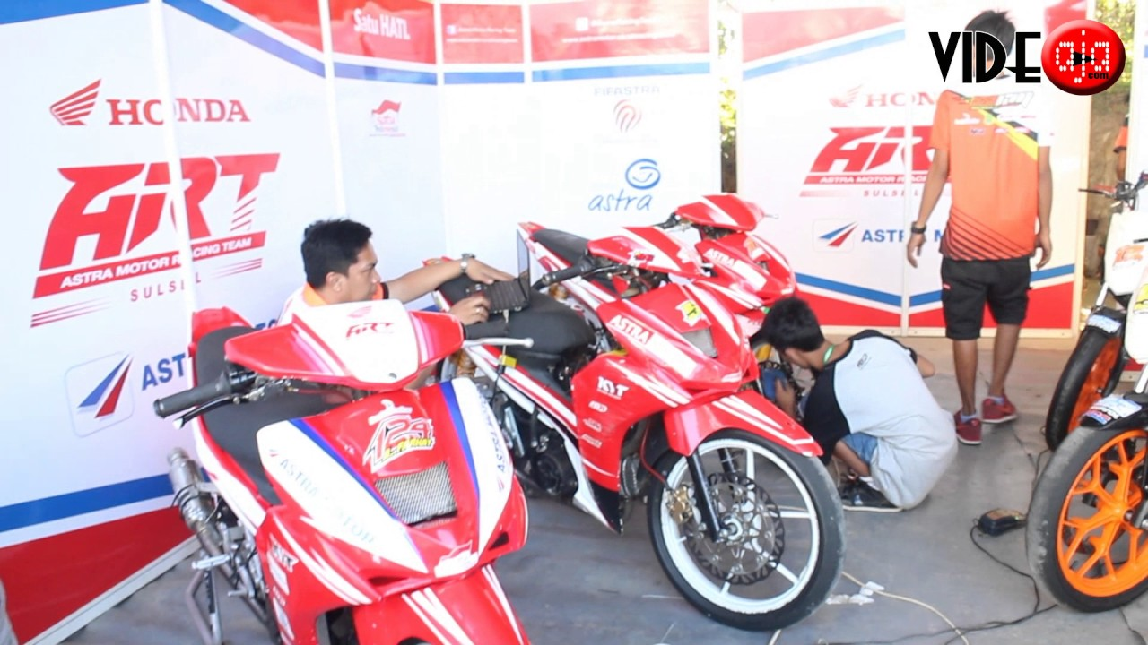 astra motor racing team di kejurnas motorprix sirkuit rms puncak