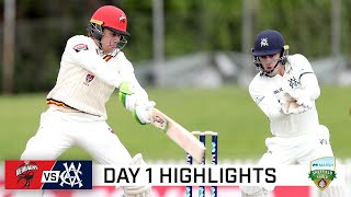 Victoria take control against Redbacks on opening day | Marsh Sheffield Shield