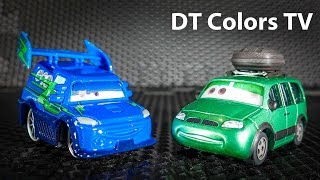 Lightning McQueen Pacman  Learn Numbers Disney Cars3 Kids | DT Colors TV