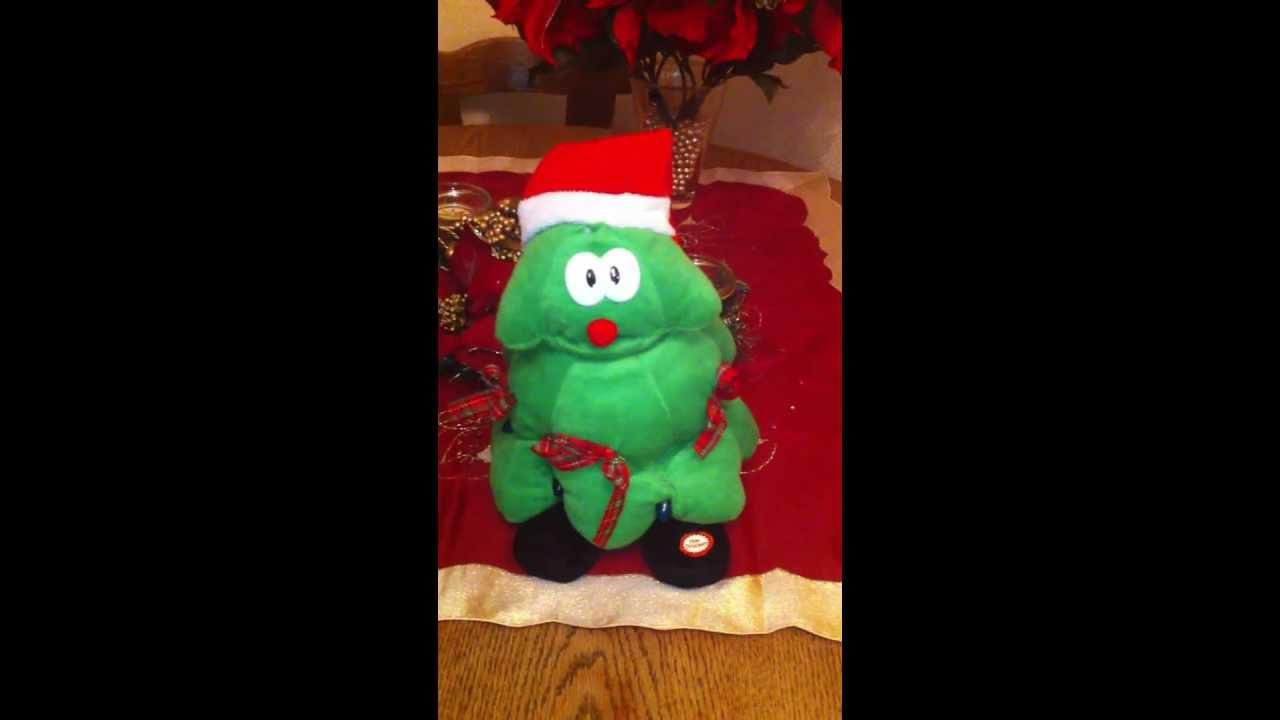 Singing Christmas Tree - Rockin' around the Christmas Tree ...