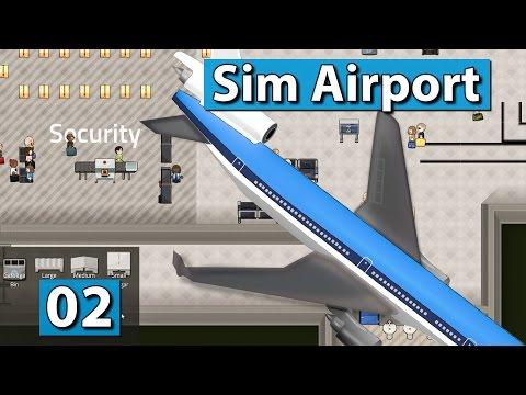 Sim Airport ► Die ersten Flieger ► Der Flughafen Bau und Management Simulator