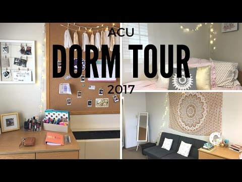 DORM TOUR ACU 2017! ♡ Cesley Taft