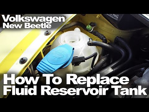 New Beetle: How To Replace Fluid Reservoir