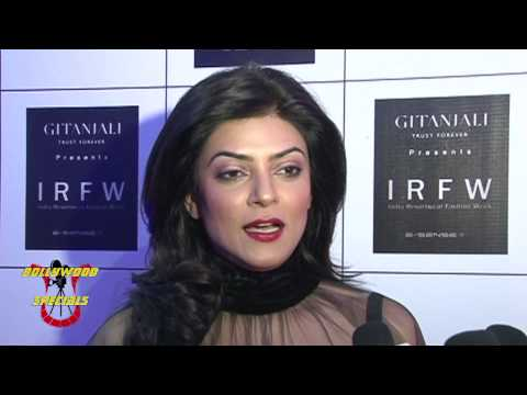 Sushmita Sen, Evelyn Sharma at IRFW Grand finale designer Rocky S