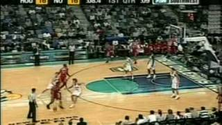 Very exciting game! T-Mac scores 33 vs Hornets PART1