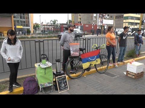 Venezuelans enter Peru seeking refuge from Maduro government