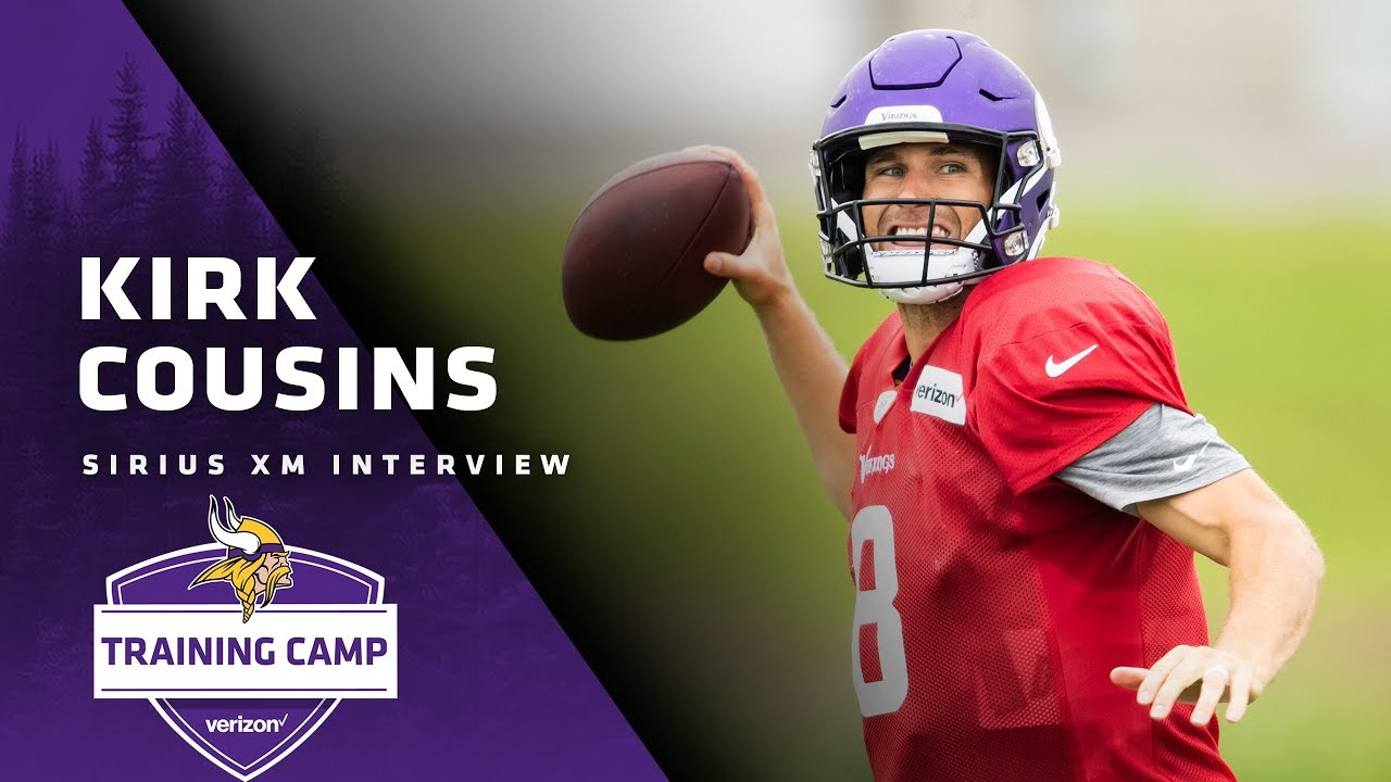 Nfl On Sirius >> Kirk Cousins Explains Challenge Of Relearning The Offense Need For More Explosive Plays