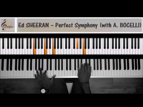 Ed Sheeran - Perfect Symphony (with A. Bocelli) [JDS Piano Tutorial]