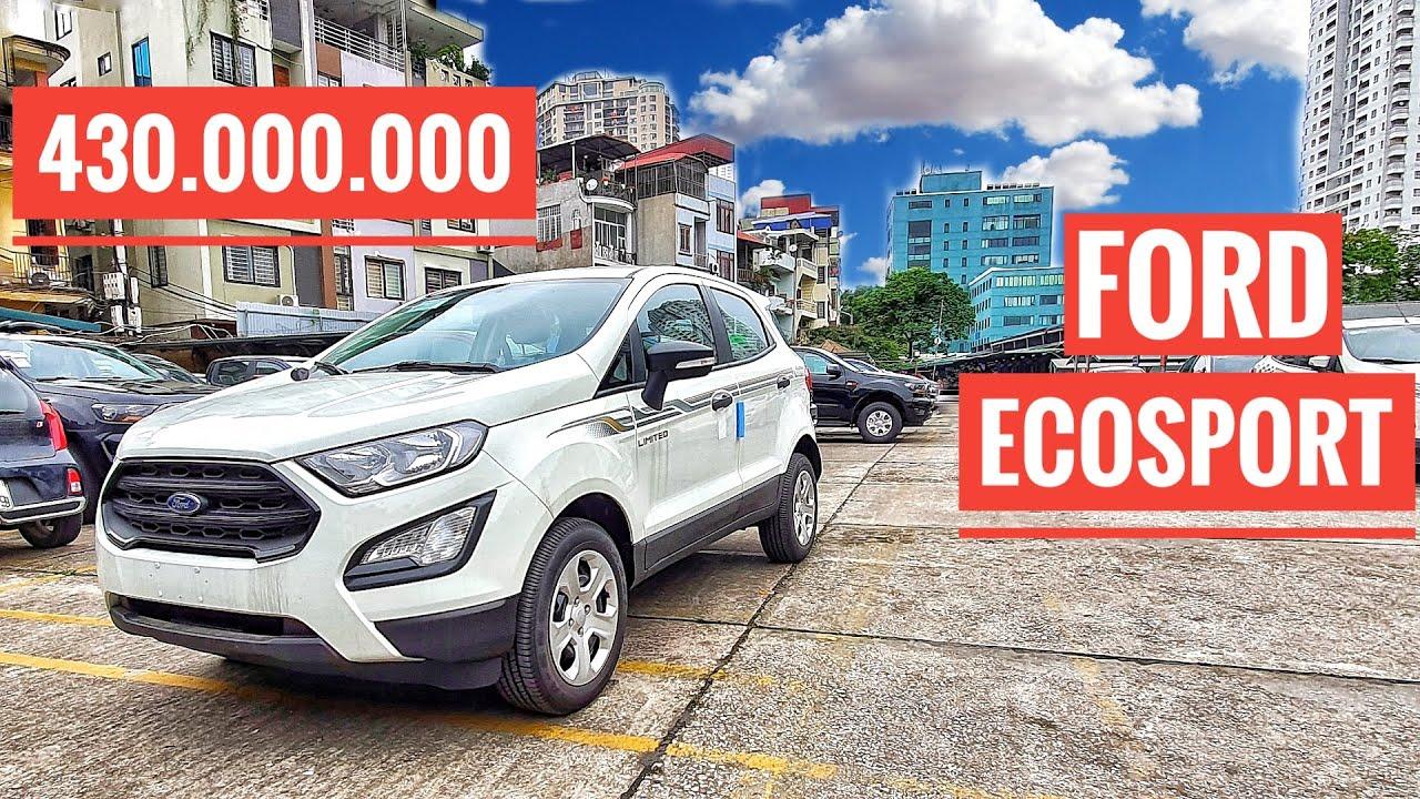 Ford Ecosport 2020 Ambiente MT Giá 430Tr, Rẻ Hơn Cả Xe Cũ
