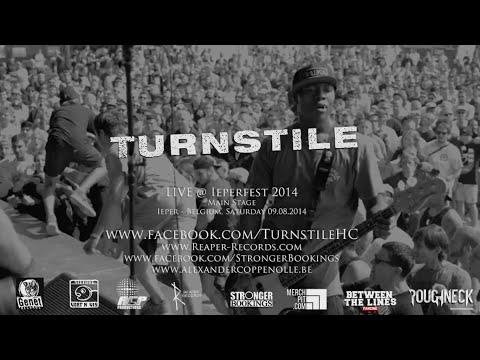 Turnstile Live @ Ieperfest 2014 (HD)