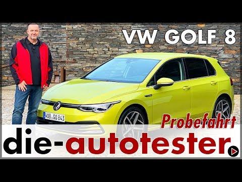 2020 VW Golf 8 Probefahrt im Volkswagen Golf 8 Test Ausstattung Motor Fakten Review Preis Deutsch