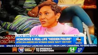 Janelle Monae and Mrs. Raye Montague on Good Morning America