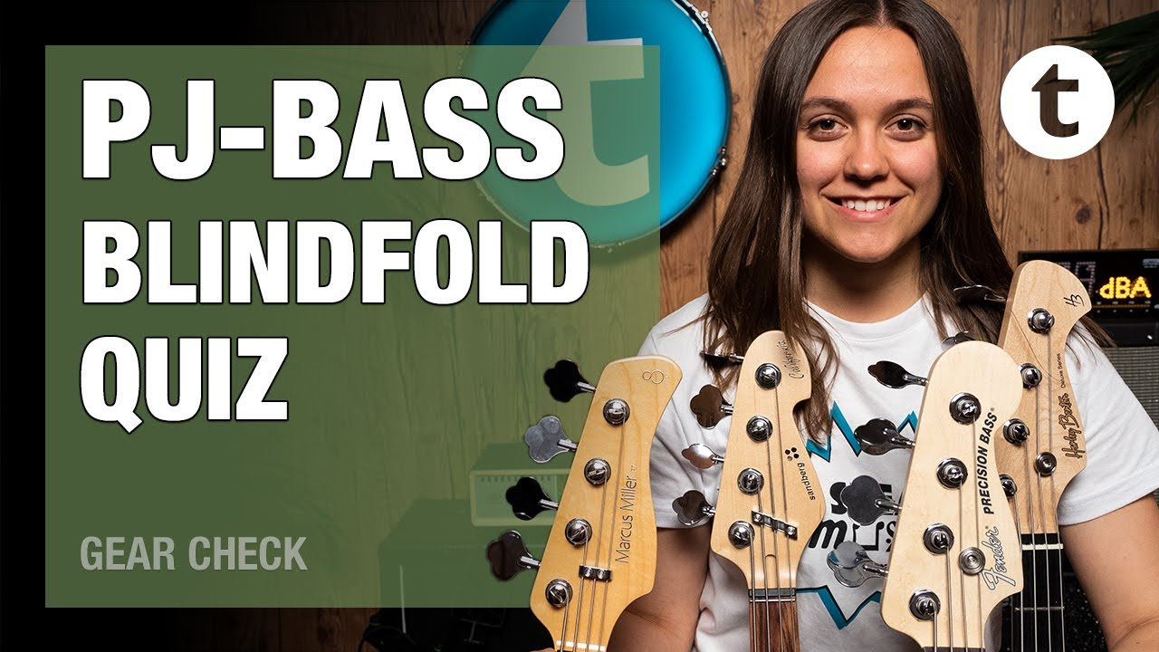 PJ-Bass Blindfold Quiz | Can You hear the difference? | Thomann