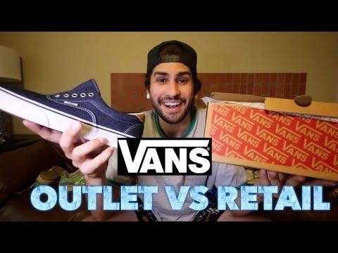 VANS OUTLET VS VANS RETAIL STORE!!! WHO HAS THE BETTER DEALS?!?