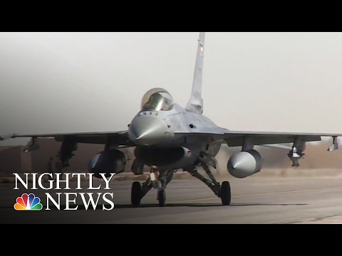 ISIS Suffers Heavy Losses From Jordanian Airstrikes | NBC Nightly News