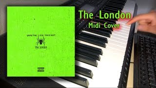 Young Thug ft. J. Cole & Travis Scott - The London (Midi Cover)