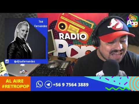 RetroPop con Ismael Pereira Calderón, Miércoles 01 de Abril 2020 en www.radiopop.cl