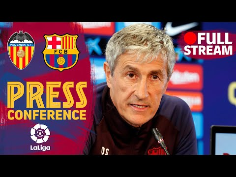 FULL STREAM: Setién's press conference before Valencia's match