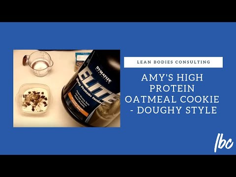 Amy's High Protein Oatmeal CookieDoughy Style