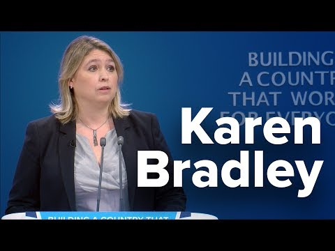 Karen Bradley: Speech to Conservative Party Conference 2017