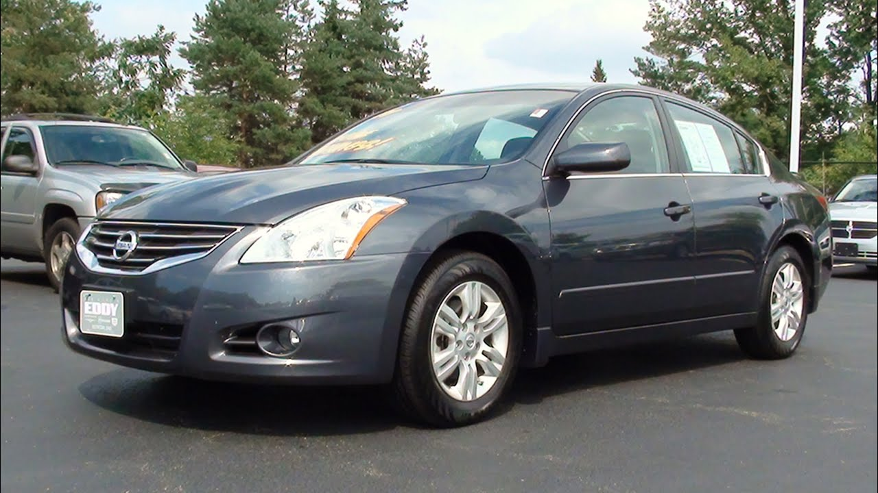 mvs - 2011 nissan altima 2.5 s special edition - youtube