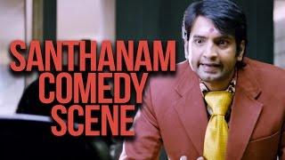Santhanam Comedy Scenes | Nannbenda | Tamil Latest Comedy Scenes