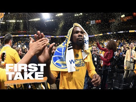 Kevin Durant Didn't Mean To Disrespect Fans | First Take | May 23, 2017