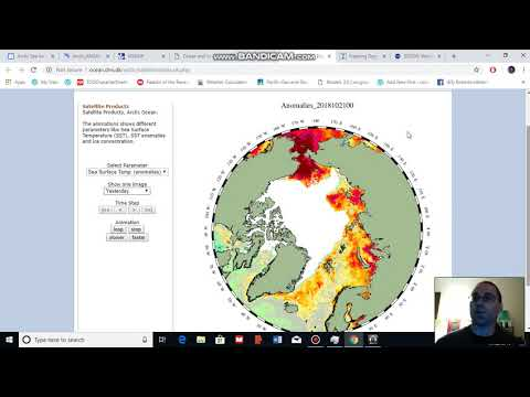 Arctic Sea Ice, Weather, and Climate Update for October 22, 2018
