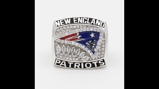 New England Patriots 2011 American Football Championship Ring | thechampionrings.com