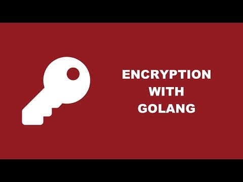 Encrypt And Decrypt Data In A Golang Application With The Crypto Packages